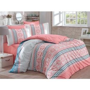 Комплект постельного белья Hobby home collection 1,5 сп, поплин, Carla персиковый (1501001573)