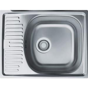 Кухонная мойка Franke Eurostar ETN 611-56 матовая (101.0174.544)