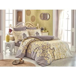 Комплект постельного белья Hobby home collection 1,5 сп, поплин, Mirella кофейный (1501001695)