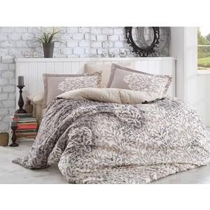 Комплект постельного белья Hobby home collection 1,5 сп, поплин, Serenity серый (1501001319)