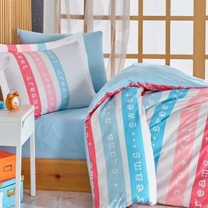 Комплект постельного белья Hobby home collection 1,5 сп, поплин, Sweet Dreams голубой (1501001767) luxberry комплект постельного белья sea dreams