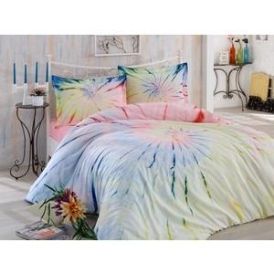 цена Комплект постельного белья Hobby home collection Евро, поплин, Batik Helezon розовый (1501001588) онлайн в 2017 году