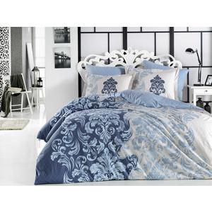Комплект постельного белья Hobby home collection Евро, поплин, Mirella синий (1501001703) цена 2017