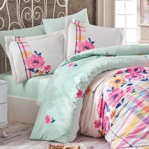 Комплект постельного белья Hobby home collection Евро, поплин, Norma розовый (1501001776)