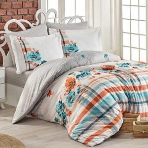 Комплект постельного белья Hobby home collection Евро, поплин, Norma серый (1501001777)