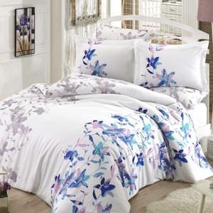 Комплект постельного белья Hobby home collection Евро, сатин, Lucia синий (1501001804)