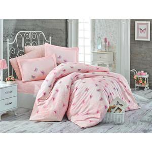 Комплект постельного белья Hobby home collection Евро, сатин, Maria персиковый (1501001722)