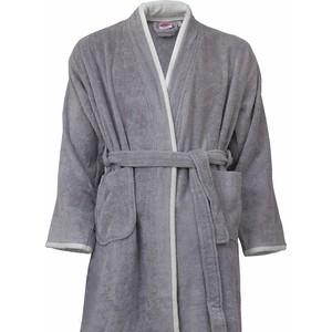 Халат универсальный Hobby home collection махровый Sude XL серый (1501001835) 90fun глубокий серый xl