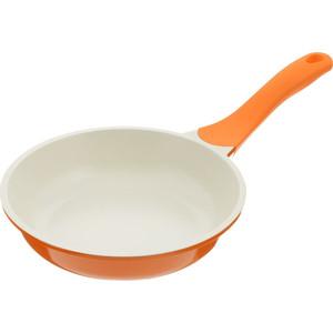 Сковорода d 26 см Biostal (Bio-FP-26 оранж/беж.)