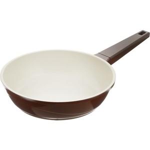 Сковорода d 24 см Biostal (Bio-FPD-24 корич/беж.) сковорода d 24 см kukmara кофейный мрамор смки240а