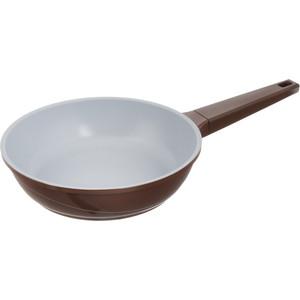 Сковорода d 24 см Biostal (Bio-FPD-24 корич/серый)