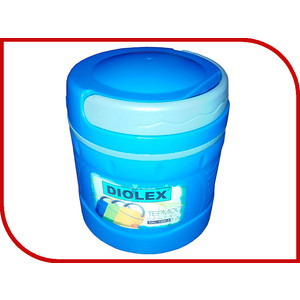 Термос-контейнер для пищи 1.2 л Diolex оранжевый (DXC-1200-2-Y)