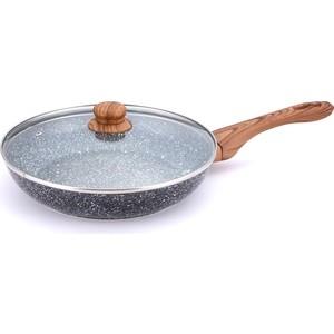 Сковорода d 26 см с крышкой Bekker Agate (BK-7944) сковорода bekker 26cm bk 3764