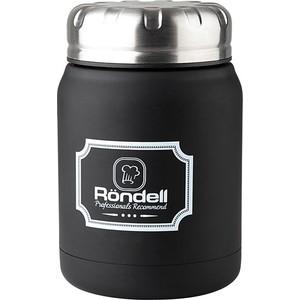 Термос для еды 0.5 л Rondell Black Picnic (RDS-942)