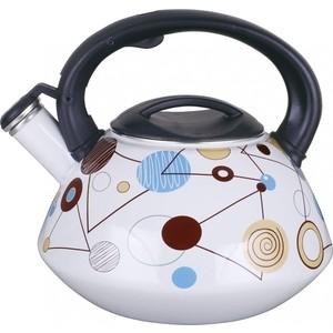 Чайник эмалированный 2.8 л со свистком Winner (WR-5111) цена и фото