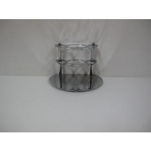 цена на Держатель зубных щеток RainBowL Aqua настольный (хром) (0039-8)