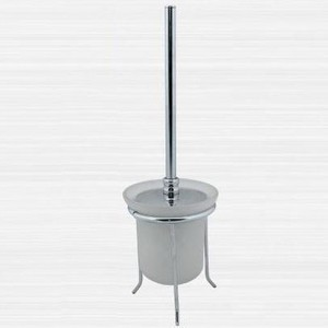 Ершик для унитаза RainBowL Aqua стекло напольный (0090-1)