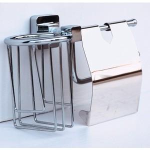 Держатель туалетной бумаги и освежителя RainBowL Cube с крышкой (2730-1) кеды 2730 cotu