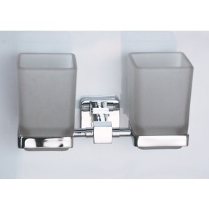 Стакан для ванны RainBowL Cube двойной (2768-1) фото