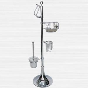 Стойка для туалета и биде RainBowL Aqua с газетницей (0058-3/F) стойка rainbowl aqua напольная d0058 5 f