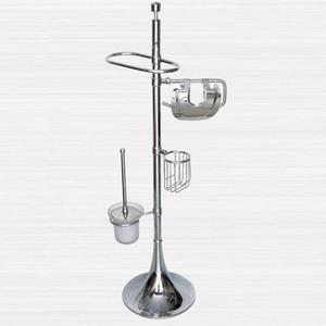Стойка для туалета и биде RainBowL Aqua напольная (0058-2/F) стойка rainbowl aqua напольная d0058 5 f