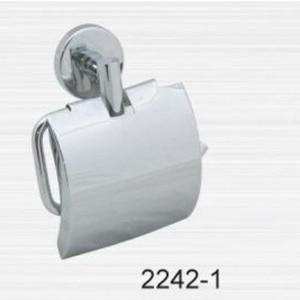 Держатель туалетной бумаги RainBowL Long с крышкой (2242-1)