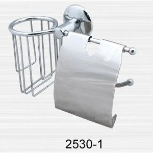 Держатель туалетной бумаги и освежителя RainBowL Otel с крышкой (2530-1)