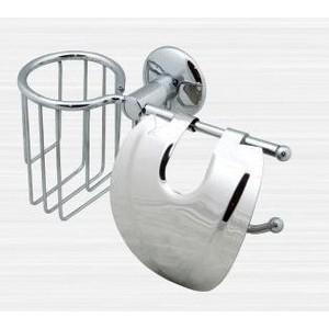 Держатель туалетной бумаги и освежителя RainBowL Otel с крышкой (2530-2)