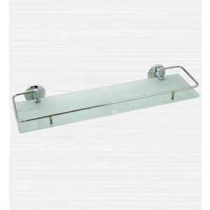 Полка стеклянная RainBowL Otel с ограничителем 60 см (2553-2)