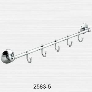 Фото - Планка с 5 крючками RainBowL Otel (2583-5) планка для ванной verran с 5 крючками цвет серебристый