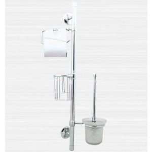 Стойка для туалета RainBowL Otel с освежителем к стене (2557)