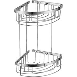 Полка-решетка RainBowL 2-этажная 18/18 см (18*18/G)