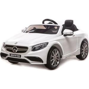 Harleybella Электромобиль Mercedes-Benz S63 AMG 12V 27Mhz белый - HL169 new alternator for mercedes benz cl63 65 amg oem al0864x 0121813002 0131549902