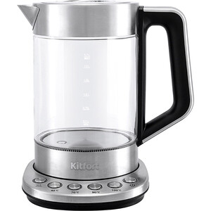 Чайник электрический KITFORT КТ-622 электрический стерилизатор kitfort кт 2303