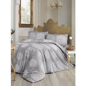 Комплект постельного белья Altinbasak 1,5 сп, ранфорс, Bello серый (298/45/CHAR002)