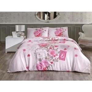 Комплект постельного белья Altinbasak 1,5 сп, ранфорс, Sardinya розовый (298/80/CHAR001)