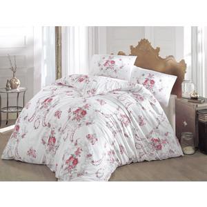 цена Комплект постельного белья Altinbasak Евро, ранфорс, Admire бордовый (297/CHAR002) онлайн в 2017 году
