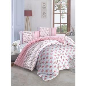 Комплект постельного белья Altinbasak Евро, ранфорс, Ahsen розовый (297/1/CHAR003)