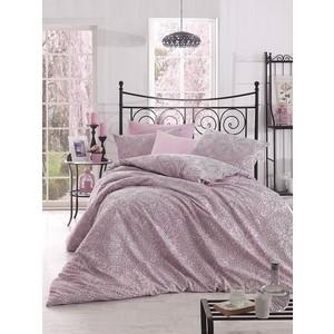 цена Комплект постельного белья Altinbasak Евро, ранфорс, Rozi розовый (297/49/CHAR003) онлайн в 2017 году