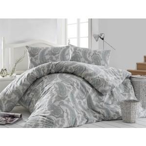 цена Комплект постельного белья Altinbasak Евро, ранфорс, Fellice зеленый (297/56/CHAR002) онлайн в 2017 году