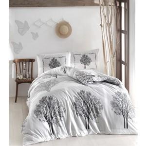 цена Комплект постельного белья Altinbasak Евро, ранфорс, Tree серый (297/59/CHAR002) онлайн в 2017 году