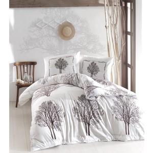 Комплект постельного белья Altinbasak Евро, ранфорс, Tree коричневый (297/59/CHAR001) цены