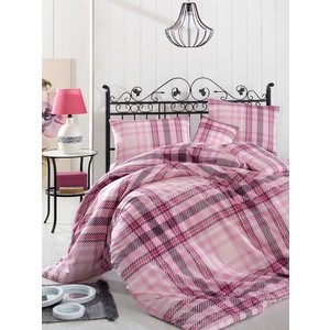 Комплект постельного белья Altinbasak Евро, ранфорс, Aliz розовый (297/62/CHAR004) комплект постельного белья altinbasak евро ранфорс ulya розовый 297 37 char001