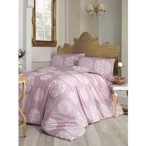 Комплект постельного белья Altinbasak Евро, ранфорс, Bello грязно-розовый (297/9/CHAR001)