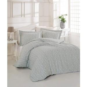 цена Комплект постельного белья Altinbasak 2-х сп, сатин, Pretty серый (255/2/17/CHAR002) онлайн в 2017 году