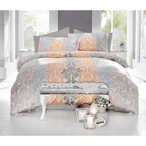 Комплект постельного белья Altinbasak Евро, сатин, Vivid кремовый (256/19/CHAR004)