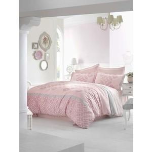 Комплект постельного белья Altinbasak Евро, сатин, Alona розовый (256/22/CHAR002)