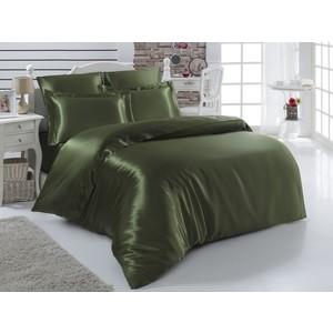 Комплект постельного белья Karna 2-х сп, шелк, Arin зеленый (1987/CHAR010) комплект постельного белья le vele 2 х сп жатый шелк sonya 1171
