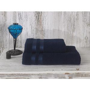 цена Полотенце Karna Petek 100x150 см синий (2148/CHAR010) онлайн в 2017 году