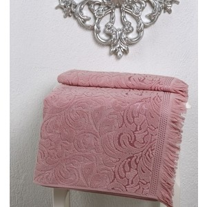 Полотенце Karna Esra 90x150 см розовый (2196/CHAR005) полотенца karna полотенце esra цвет бежевый 70х140 см